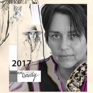 Christine Bardy aime le dessin à Marseille
