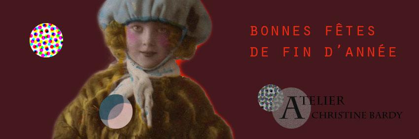 Atelier Christine Bardy Noël carte cadeau