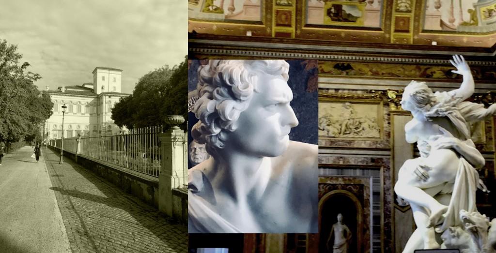 Le Bernin Villa Borghese Rome Bardy