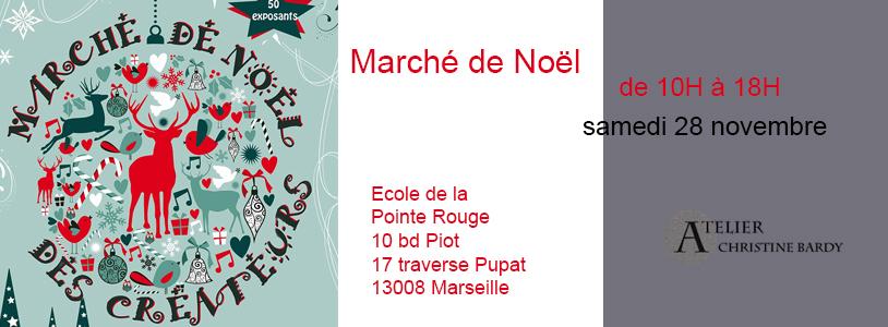 Marché de Noël Atelier Bardy Marseille