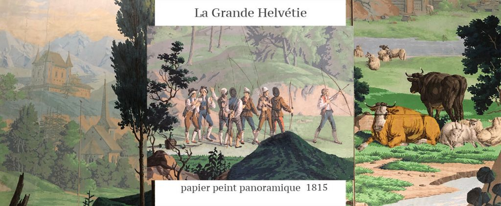 Papier peint atelier Bardy musée Borely Marseille