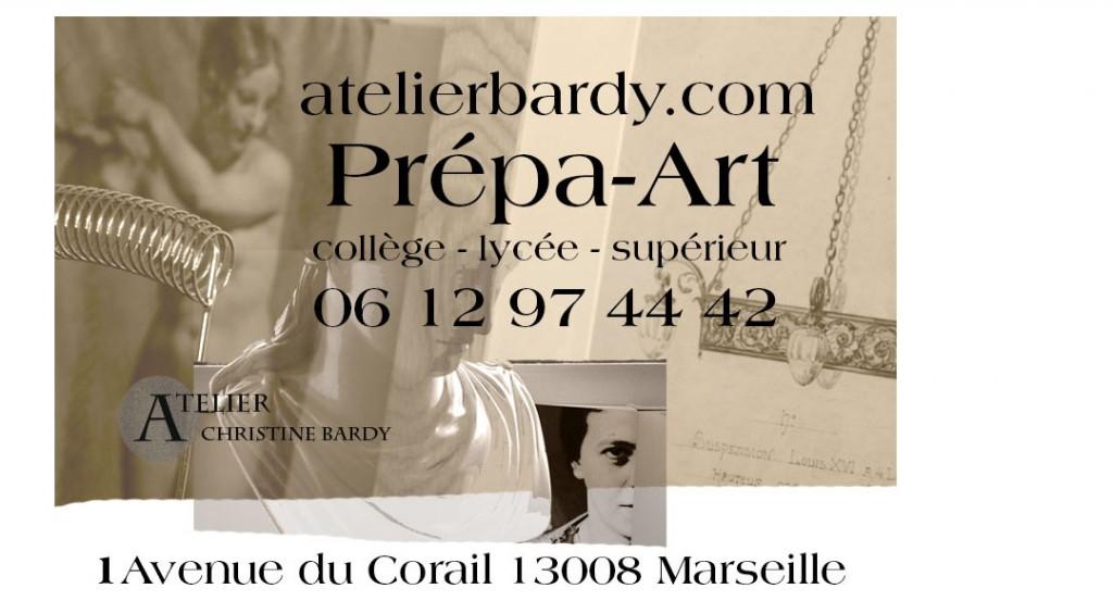 Prépa-art Christine Bardy Marseille