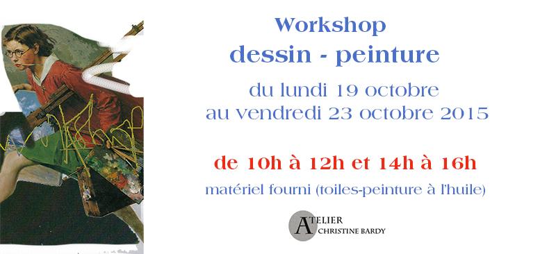 Workshop peinture Bardy Marseille